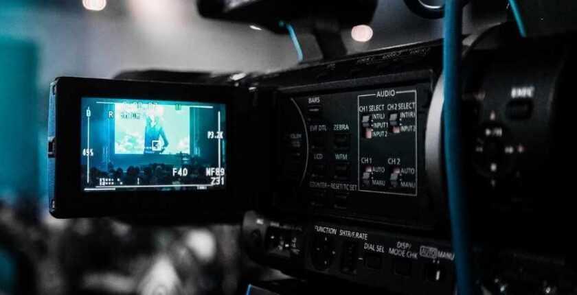 gravação de apresentação em publico